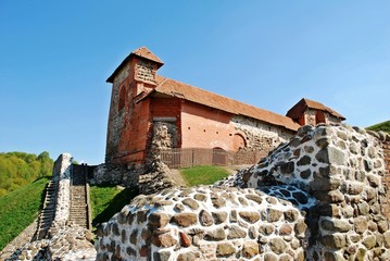 Upper Castle in Vilnius. Lithuania