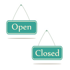 Open and Closed.