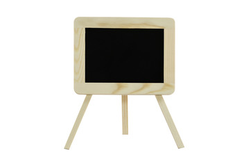Blackboard With isolated on white : Clipping path included