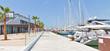 Leinwandbild Motiv Neue Hafen in Palma de Mallorca