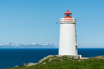 Leuchtturm auf Island