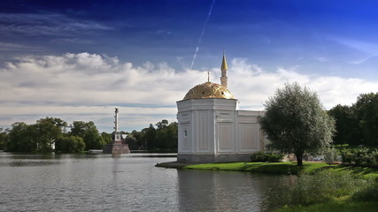 "Pavilion ""Turkish bath"". Catherine Park. Pushkin"