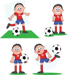 Soccer Player Set 1