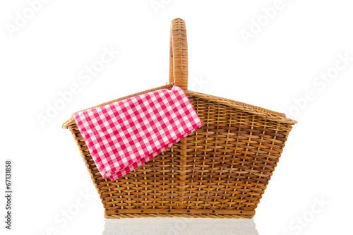 Tuinposter Picknick Picnic basket