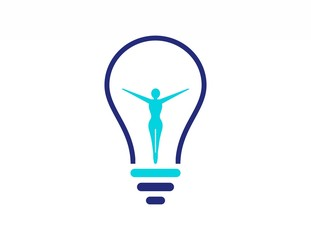 wellness spa solution logo,idea beauty woman body,lamp
