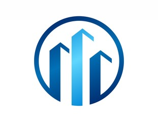business real estate logo,company,globe finance symbol icon