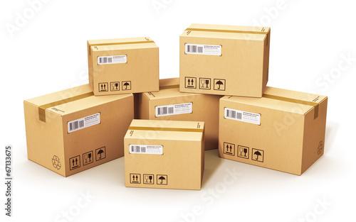 Cardboard boxes - 67133675