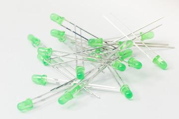 Green LEDs