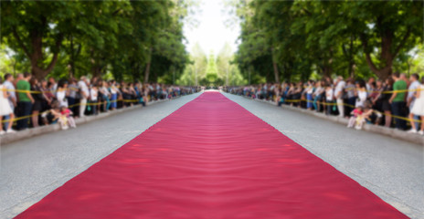 classic red carpet