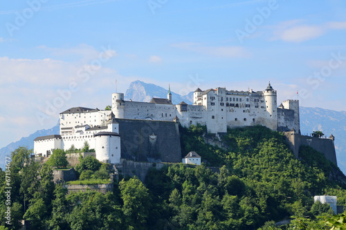 canvas print picture Festung Hohensalzburg