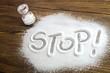 Stop salt – medical concept - 67134877