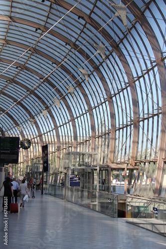 Fotobehang Treinstation Gare de Strasbourg