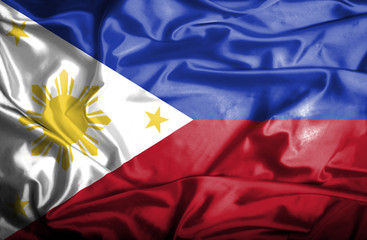 Phillipines waving flag