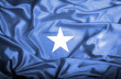 Somalia waving flag