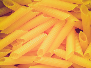 Retro look Pasta picture