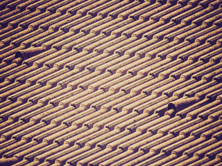 Retro look Roof tiles
