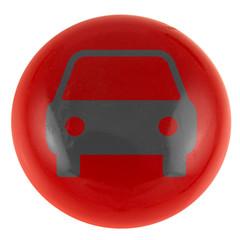 voiture sur bouton