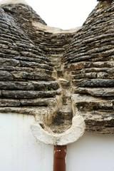 アルベロベッロの屋根の樋