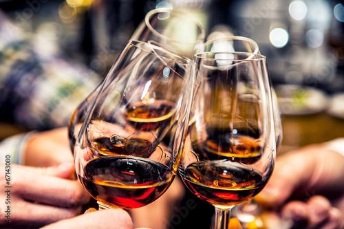 Plexiglas Alcohol Cheers.