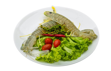 Raw Spiny lobster