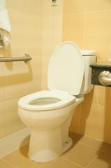 Toilet in hospital