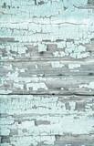 Holz Hintergrund mint grün - alt und abgenutzt