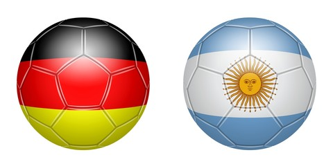 Football. Germany - Argentina