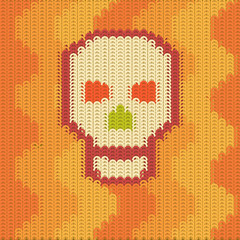 knitting pattern scull