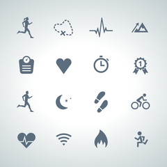 activity icon set 003