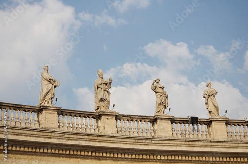 The Vatican Bernini's colonnade in Rome - 67145815
