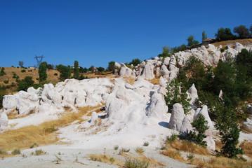 Nozze di pietra,piramidi rocciose-fenomeno naturale,Bulgaria