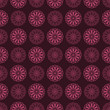 Spirographs Pattern. Vector seamless texture