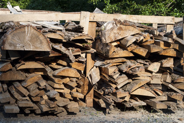 Drying Logs