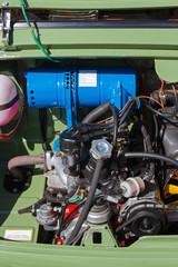 Motor de coche clásico