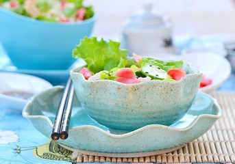 Salad  in Asian style