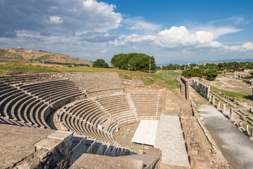 the amphitheater of Pergamos, southwest Turkey