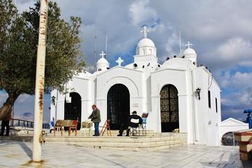 リガヴィトスの丘 アギオス・ヨルギオス 教会