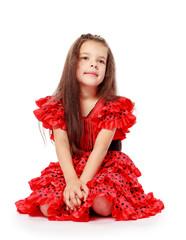 sweet, beautiful little girl