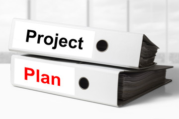 project plan office binders