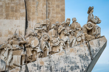 The Padrao dos Descobrimentos (Monument to the Discoveries) cele