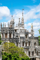 The ancient estate Quinta da Regaleira in Sintra - Portugal
