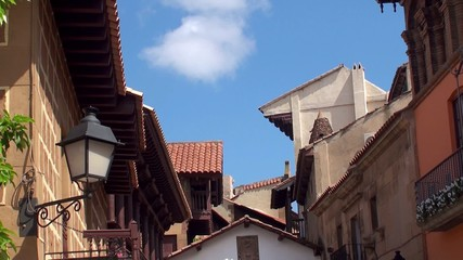 Types of Poble Espanyol (Spanish Village) at Barselona
