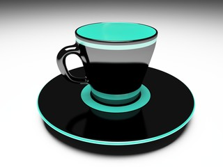 stylish coffe cup