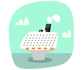 Crucero cartoon