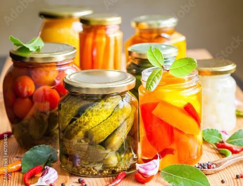 Vegetable preserves - 67158408