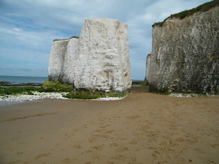 Chalk Stacks - Botony bay Kent