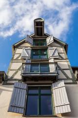 Historisches Gebäude in Rostock.