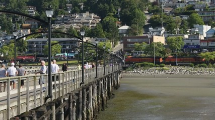 Coal Train, White Rock, British Columbia