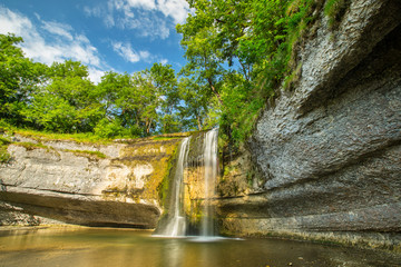 la vallée aux 7 cascades JURA