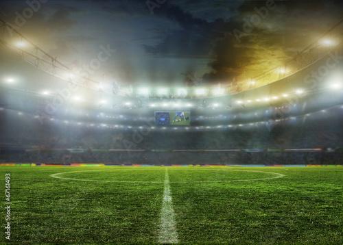 Plexiglas Sportwinkel stadium